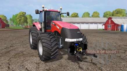 Case IH Magnum CVX 370 wide tires pour Farming Simulator 2015