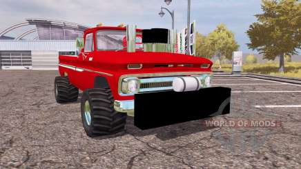Chevrolet C10 1964 lifted für Farming Simulator 2013
