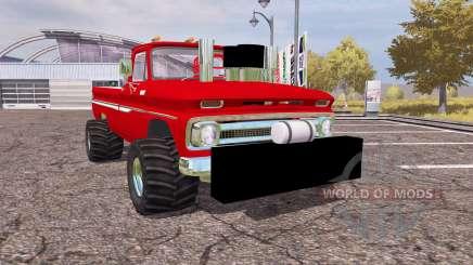 Chevrolet C10 1964 lifted pour Farming Simulator 2013