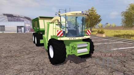 Krone BiG X 1100 cargo pour Farming Simulator 2013