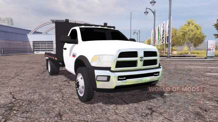 Dodge Ram 5500 Heavy Duty flatbead für Farming Simulator 2013