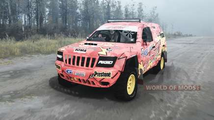 Jeep Grand Cherokee (WJ) Superwolf v1.04 pour MudRunner