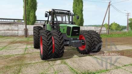 Fendt 920 Vario forest edition für Farming Simulator 2017