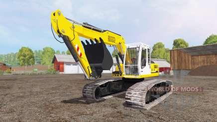 Liebherr A 900 C Litronic crawler für Farming Simulator 2015