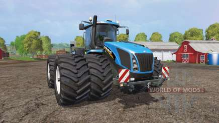 New Holland T9.565 twin wheels v1.2 pour Farming Simulator 2015