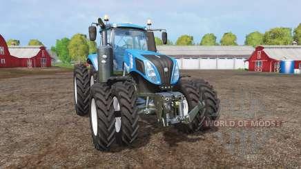New Holland T8.320 twin wheels pour Farming Simulator 2015