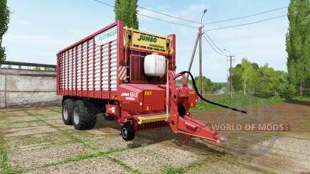 POTTINGER JUMBO 6610 combiline pour Farming Simulator 2017