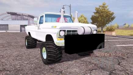 Ford F-100 1972 highboy pour Farming Simulator 2013