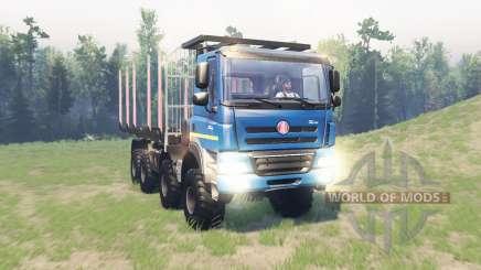 Tatra Phoenix T 158 8x8 v11.1 für Spin Tires
