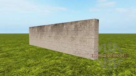 Backstein-Zaun für Farming Simulator 2017