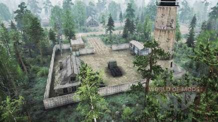Une maison forestière v2.0 pour MudRunner