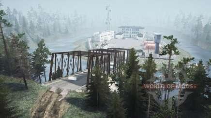 Le village inondé v2.0 pour MudRunner