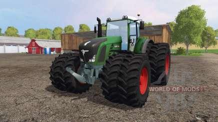 Fendt 936 Vario twin wheels für Farming Simulator 2015
