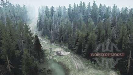 Forêt de pins 2 pour MudRunner