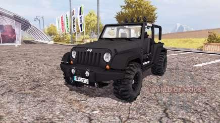 Jeep Wrangler (JK) v2.0 pour Farming Simulator 2013