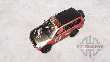 Mitsubishi Montero pour Spintires MudRunner