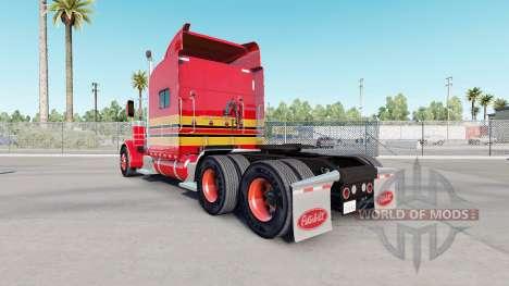 Haut Baby Rot auf dem truck-Peterbilt 389 für American Truck Simulator