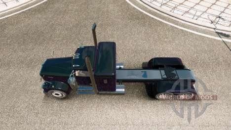 Kenworth W900A custom pour Euro Truck Simulator 2
