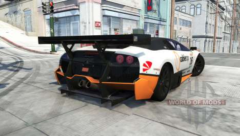 Lamborghini Murcielago R-SV GT1 für BeamNG Drive