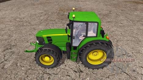John Deere 6830 Premium pour Farming Simulator 2015