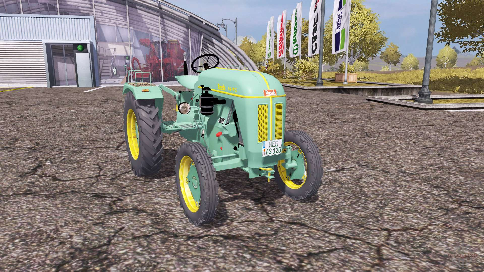bautz as 120 pour farming simulator 2013. Black Bedroom Furniture Sets. Home Design Ideas
