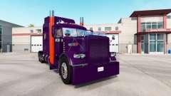 Violet d'Orange de la peau pour le camion Peterb