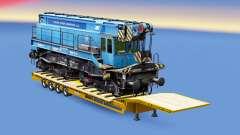 Railway cargo pack v1.8 für Euro Truck Simulator 2