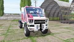 Bremach T-Rex Double Cab marins-pompiers für Farming Simulator 2017