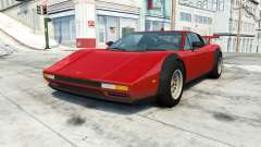 Civetta Bolide supercar v1.1 pour BeamNG Drive