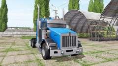 Kenworth T800 pour Farming Simulator 2017