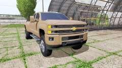 Chevrolet Silverado 3500 HD Crew Cab für Farming Simulator 2017