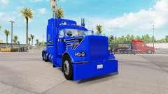 Haut Blaue Waffe für den truck-Peterbilt 389