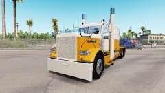 Haut Creme Gold für den truck-Peterbilt 389