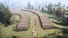 Forêt de jeu pour MudRunner