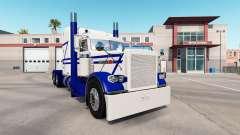 Rollin White skin für den truck-Peterbilt 389