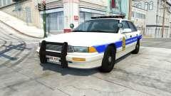 Gavril Grand Marshall honolulu police v1.03 pour BeamNG Drive