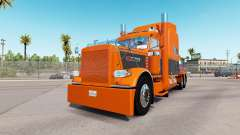 Haut Orange Grau für den truck-Peterbilt 389