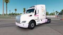 Super Sonico de la peau pour le camion Peterbilt