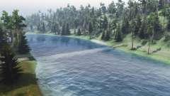 Le débit de la rivière