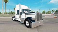 Haut Black & White für den truck-Peterbilt 389