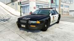 Gavril Grand Marshall belasco police pour BeamNG Drive