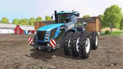 New Holland T9.565 triple wheels