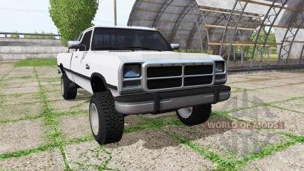 Dodge Ram D250 Club Cab pour Farming Simulator 2017