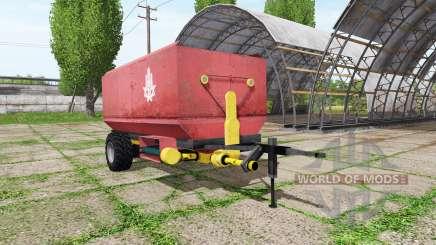 Fodder mixer pour Farming Simulator 2017