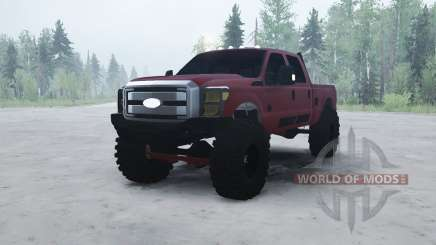 Ford F-350 Super Duty Crew Cab 2012 pour MudRunner