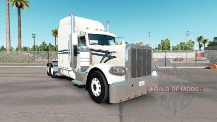 Haut, die Schwarz-Beschichtung auf der truck-Peterbilt 389 für American Truck Simulator