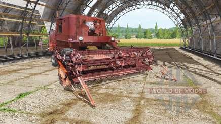 FMZ Bizon Z056 für Farming Simulator 2017