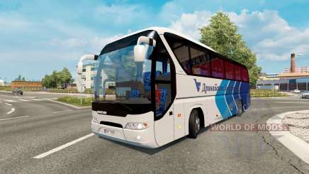 Bus traffic v1.6 für Euro Truck Simulator 2
