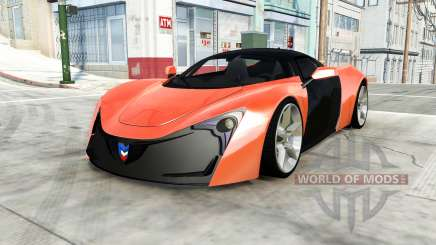 Marussia B2 pour BeamNG Drive