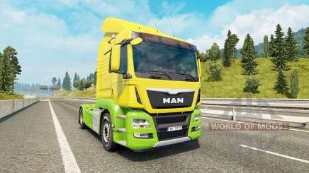 MAN TGS v1.1 pour Euro Truck Simulator 2